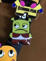 Official Peccy SHREK Pin Badge - Amazon Employee Exclusive