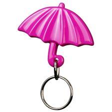 Gadget portachiavi a forma di ombrello color VIOLA ombrellino mare sole pioggia