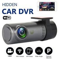 1080P Mini Car Dash Camera Cam Front Video Recorder Wifi Hidden DVR Night Vision