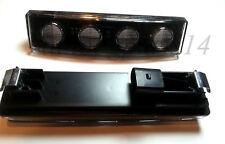 2x FRONT MARKER LIGHT WHITE CLEAR LED VISOR DRL CAB SCANIA TRUCK LORRY 24V