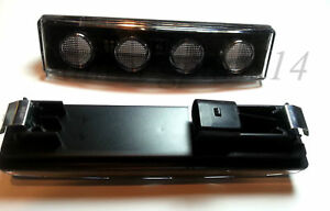 2x 24V Front Marker LED Lights White Clear Visor Drl Cab fit Scania Lorry Truck