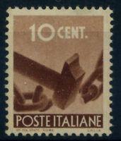 Guinea 1945 Sass. 543 Nuovo ** 100% 10 c., Democratica