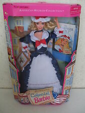 barbie colonial special edition american stories collection doll 1994 NRFB 12578