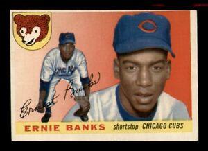 1955 Topps Set Break # 28 Ernie Banks EX *OBGcards*