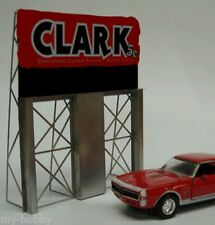 O/HO Scale Clark Bar Animated Neon Sign - Miller Engineering #2981