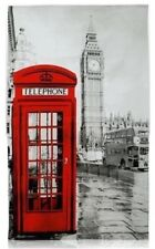 London Photographic Tea Towel Big Ben Red Telephone Box Bus Souvenir Gift