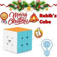 3X3 Magic Cube Smooth Fast Speed Rubix Rubiks Puzzle Kids Creative Gifts XMAS Qj