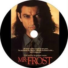 Mister Frost on DVD Jeff Goldblum Rare Film