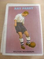 1959 A&BC Football Quiz: No.03 - Raymond Alan Parry, Bolton Wanderers [Red Back]