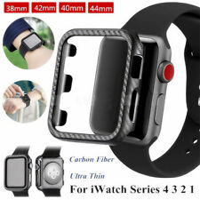 PC Watch Frame Bumper Case Cover Protector For Apple Watch 4 3 2 1 38/42/40/44mm