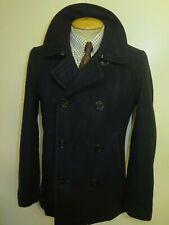 "Replica US NAVY PEA COAT Naval Clothing Kersey Wool Pembroke 36"" Euro 46"