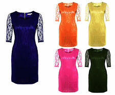 Women's 3/4 Sleeve Polyester Party Stretch, Bodycon Dresses
