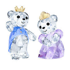 Swarovski Crystal KRIS BEAR PRINCE & PRINCESS 5301569 New 2018