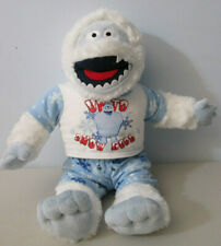 Build-A-Bear Abominable Snowman Plush Stuffed Animal Up To Snow Good Outfit