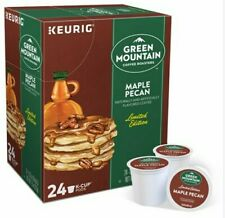 Green Mountain Limited Edition Flavor Maple Pecan Coffee 24 Keurig K Cups
