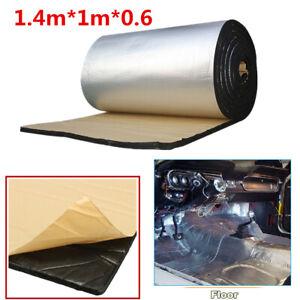 1.4 x 1m Fiberglass Car Sound Proofing Mat Heat Insulation Closed Cell Foam 6mm