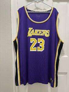 Los Angeles Lakers LeBron James Fanatics NBA Jersey Mens Size 5XL NEW C11
