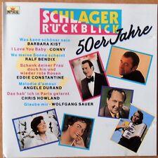 Schlager Rückblick 50er Jahre - Ralf Bendix, Chris Howland u.a. - CD