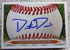 Oakland Athletics A's Dustin Driver Signed Signature Auto Card