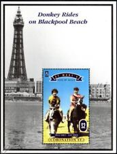 CORONATION STREET Stamp Sheet: Elsie Lucille Blackpool (1995 St Mary's / Scilly)