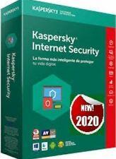 Kaspersky Internet security  1 PC, 1 Anno, originale (Invio Mediante Email )