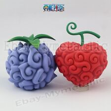 2pcs One Piece Devil Fruit Blackbeard Yami Yami & Law Ope Ope no Mi 10-12cm NB
