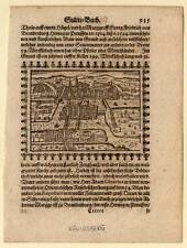Königsberg - Holzschnitt von Saur 1595