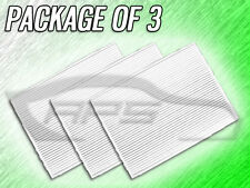 C25864 CABIN AIR FILTER FOR 2008 2009 2010 ROGUE SENTRA - PACKAGE OF THREE