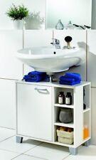 Galdem Waschbeckenunterschrank FROZEN WBU Badmöbel Waschtisch Badezimmer Weiß