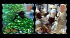 SELLOS 1998 GRAN BRETAÑA 2054/55 CARNAVALL DE NOTTING HILL 2v.
