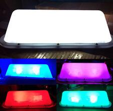 14 Inch LED Car Taxi Blank DIY Cab Roof Top Sign Light Lamp Magnetic Base 12V