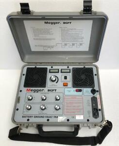 MEGGER 246100B BGFT BATTERY GROUND FAULT TRACER -FREE SHIPPING-