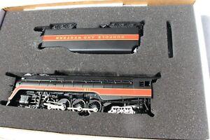 Bachmann 11316 N&W J 4-8-4 Loco & Tender,SMOKE  #601 LN/Box & SIX PASSENGER CARS