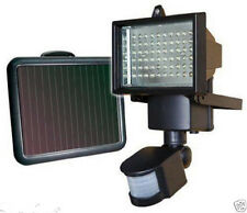 60 LED SOLAR POWER RECHARGEABLE PIR MOTION SENSOR SECURITY LIGHT OUTDOOR GARDEN
