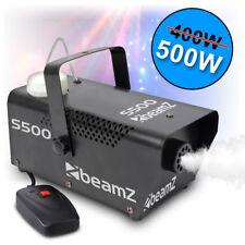 BEAMZ DJ Halloween Party Disco Smoke Fog Mist Effect Machine 500W FREE FLUID