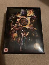 Avengers Endgame Blu Ray Steelbook Limited Edition Zavvi Boxset Rare UK NEW
