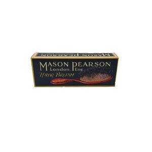 Mason Pearson:Junior Bristle/Nylon Hair Brush - Ruby Red BN2