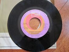 """STEVIE WONDER I'm More Than Happy / Signed Sealed Delivered 7"""" 45 RPM ITALY RARE"""