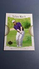 MICHAEL CLARK II 2001 UPPER DECK GOLF CARD # 160 B7298