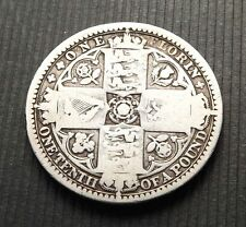 Great Britain UK 1849 1 One Florin Silver VG C|5011