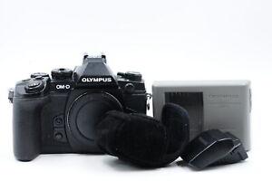 Olympus OM-D E-M1 16.3MP Mirrorless MFT Digital Camera Body w/FL-LM2 Flash #522