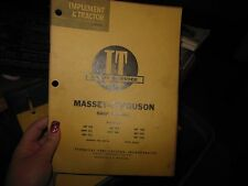 Massey Ferguson 303 333 404 406 444 1001 Tractor Shop Service Repair Manual MF10