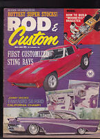 Rod & Custom Magazine Sting Rays Johnny Taylor  May 1963 FREE US S/H