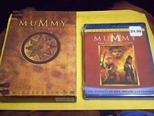 (3) The Mummy Blu-Ray/DVD Lot: The Mummy Returns & Tomb of Dragon Emperor (NEW)