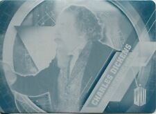 Doctor Who Timeless Cyan Printing Plate Historical Figures Card #6
