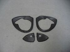 59 Ford outside door handle pads Fairlane Sunliner Skyliner 61-66 F100 F250 F250