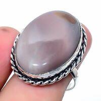 Polychrome Jasper Handmade Ethnic Style Jewelry Ring Size 6.5