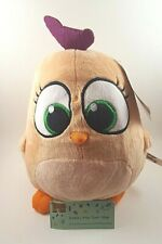 """OFFICIAL 8"""" ANGRY BIRD ORANGE HATCHLINGS ANGRY BIRDS THE MOVIE PLUSH SOFT TOYS"""