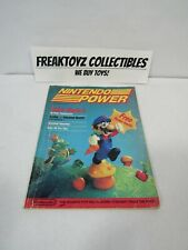 Nintendo Power Vol 1 July August 1988 Very First Issue RARE with Poster