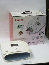 Canon PIXMA Mini 260 photo Inkjet Printer used